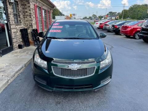 2014 Chevrolet Cruze for sale at Smyrna Auto Sales in Smyrna TN