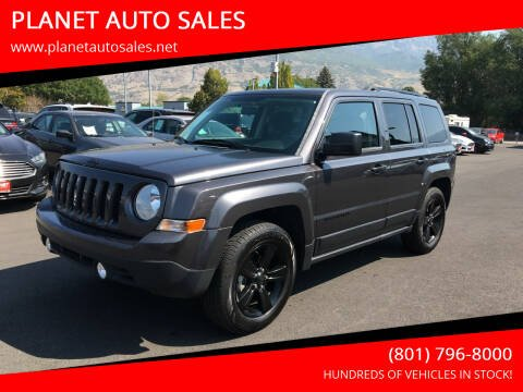 2015 Jeep Patriot for sale at PLANET AUTO SALES in Lindon UT