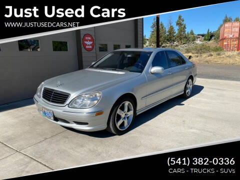 2002 Mercedes-Benz S-Class for sale at Just Used Cars in Bend OR
