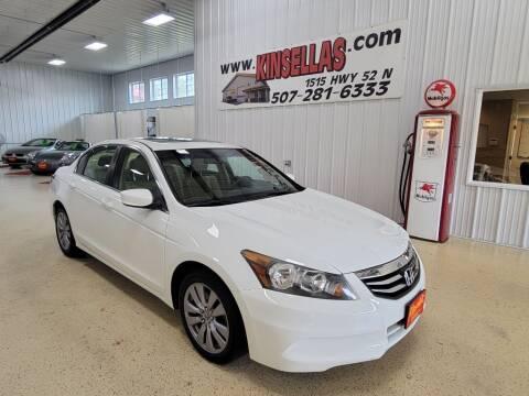 2011 Honda Accord for sale at Kinsellas Auto Sales in Rochester MN
