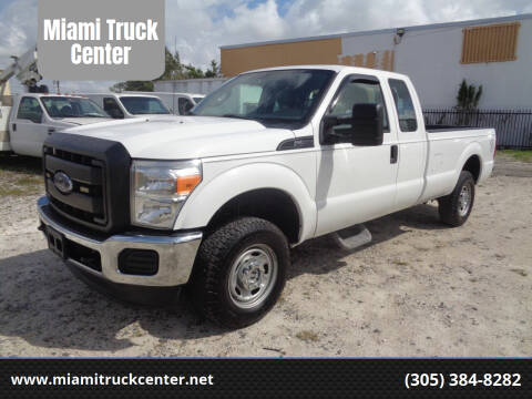 2015 Ford F-250 Super Duty for sale at Miami Truck Center in Hialeah FL
