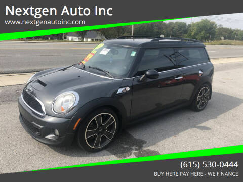 2013 MINI Clubman for sale at Nextgen Auto Inc in Smithville TN