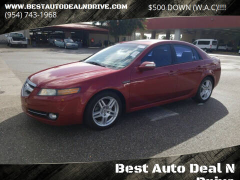 2008 Acura TL for sale at Best Auto Deal N Drive in Hollywood FL