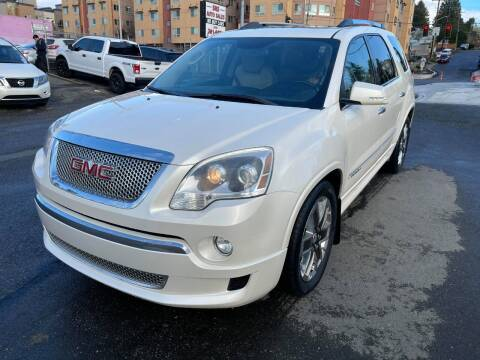 2012 GMC Acadia for sale at SNS AUTO SALES in Seattle WA