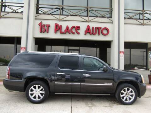 2012 GMC Yukon XL for sale at First Place Auto Ctr Inc in Watauga TX