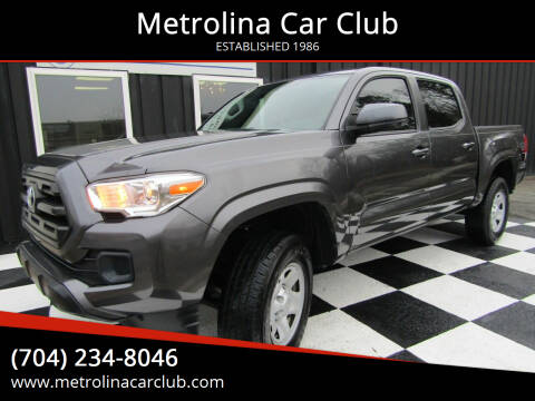 2017 Toyota Tacoma for sale at Metrolina Car Club in Matthews NC