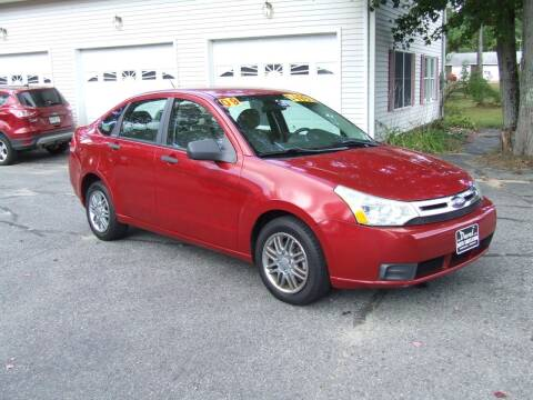 2009 Ford Focus for sale at DUVAL AUTO SALES in Turner ME