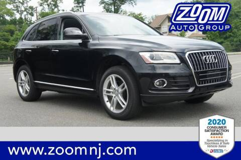 2016 Audi Q5 for sale at Zoom Auto Group in Parsippany NJ