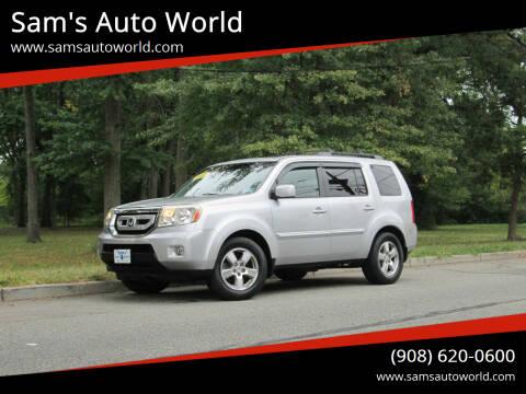 2010 Honda Pilot for sale at Sam's Auto World in Roselle NJ