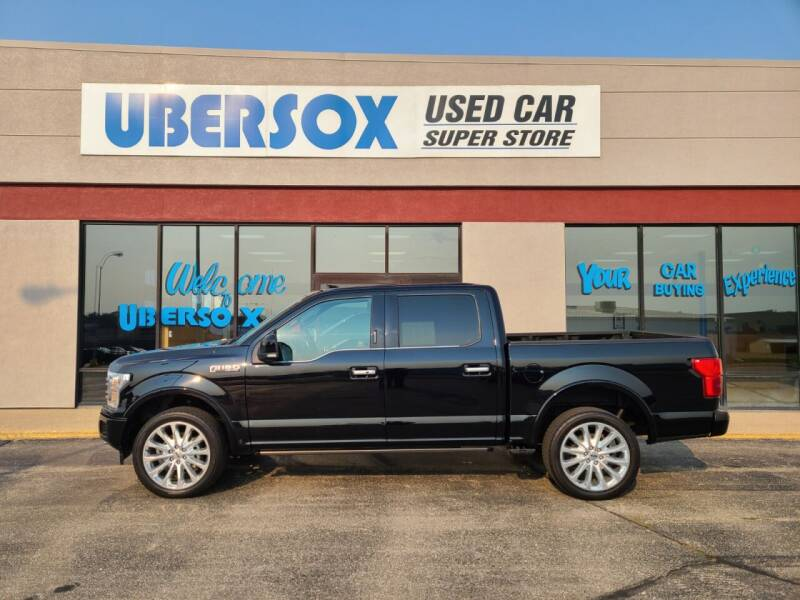 2018 Ford F-150 for sale at Ubersox Used Car Superstore in Monroe WI