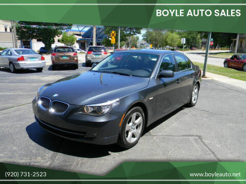 2008 BMW 5 Series for sale at Boyle Auto Sales in Appleton WI
