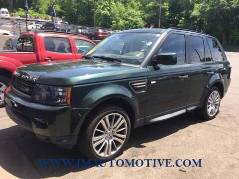 2011 Land Rover Range Rover Sport for sale at J & M Automotive in Naugatuck CT