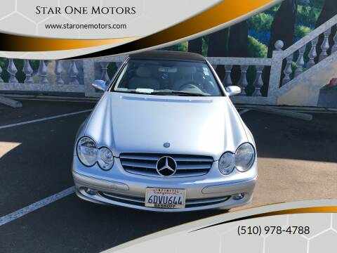2005 Mercedes-Benz CLK for sale at Star One Motors in Hayward CA