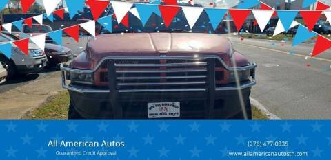 1999 Dodge Ram Pickup 2500 for sale at All American Autos in Kingsport TN