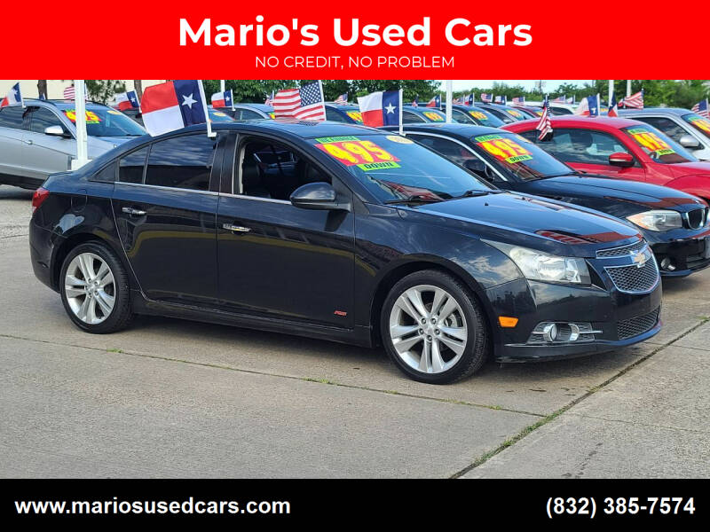 2013 Chevrolet Cruze for sale at Mario's Used Cars in Houston TX
