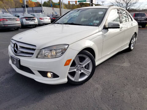 2010 Mercedes-Benz C-Class for sale at Cedar Auto Group LLC in Akron OH