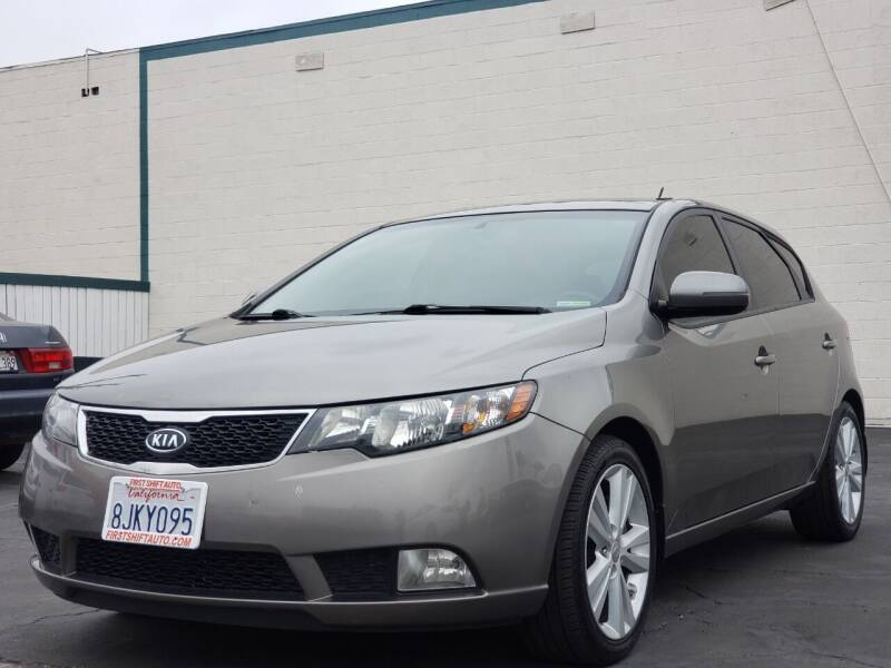 2012 Kia Forte5 for sale at First Shift Auto in Ontario CA