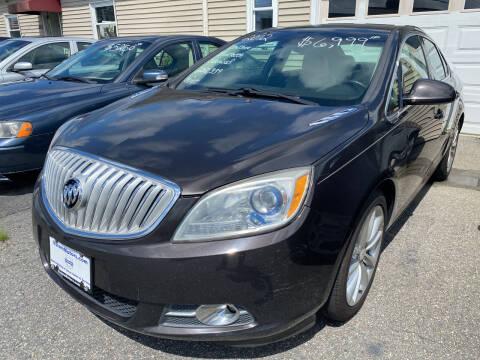 2012 Buick Verano for sale at Volare Motors in Cranston RI