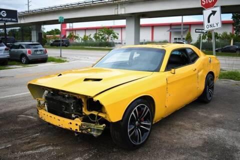 2012 Dodge Challenger for sale at ELITE MOTOR CARS OF MIAMI in Miami FL