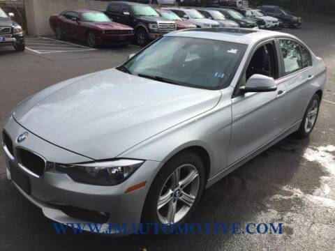 2015 BMW 3 Series for sale at J & M Automotive in Naugatuck CT