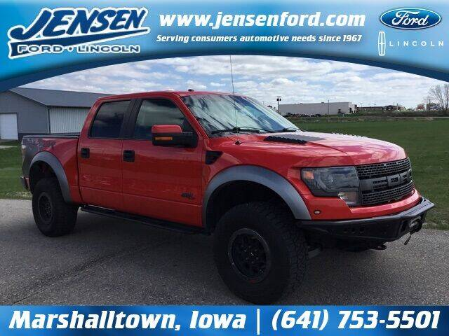 2014 Ford F-150 for sale at JENSEN FORD LINCOLN MERCURY in Marshalltown IA