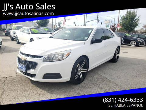 2014 Chevrolet Malibu for sale at JJ's Auto Sales in Salinas CA