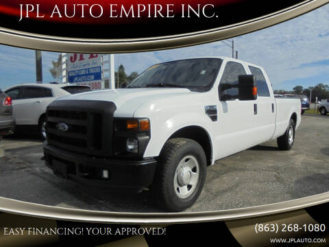 2008 Ford F-350 Super Duty for sale at JPL AUTO EMPIRE INC. in Auburndale FL