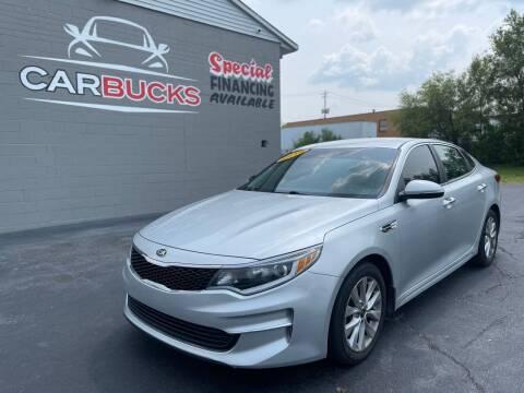 2018 Kia Optima for sale at Carbucks in Hamilton OH