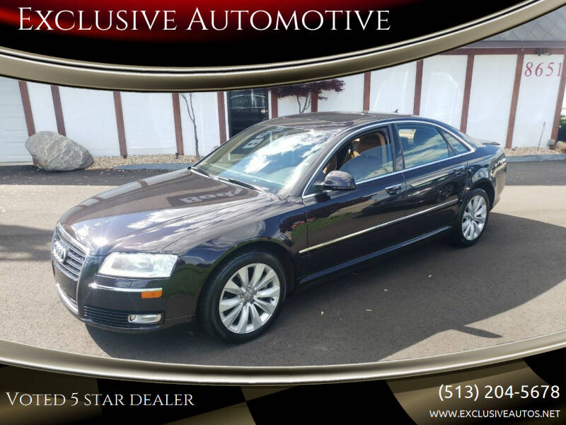 2008 Audi A8 for sale at Exclusive Automotive in West Chester OH