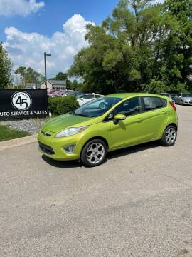 2011 Ford Fiesta for sale at Station 45 Auto Sales Inc in Allendale MI