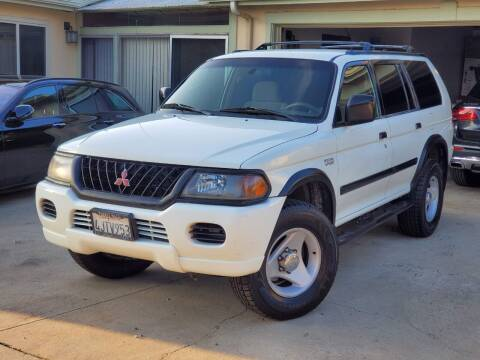 2000 Mitsubishi Montero Sport for sale at Gold Coast Motors in Lemon Grove CA