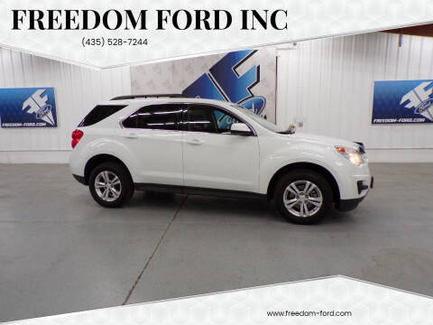 2014 Chevrolet Equinox for sale at Freedom Ford Inc in Gunnison UT
