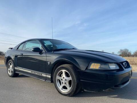 2002 Ford Mustang for sale at ILUVCHEAPCARS.COM in Tulsa OK