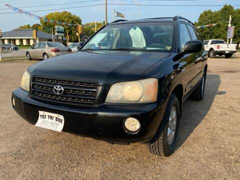 2003 Toyota Highlander for sale at Toy Box Auto Sales LLC in La Crosse WI
