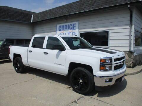 2014 Chevrolet Silverado 1500 for sale at Choice Auto in Carroll IA