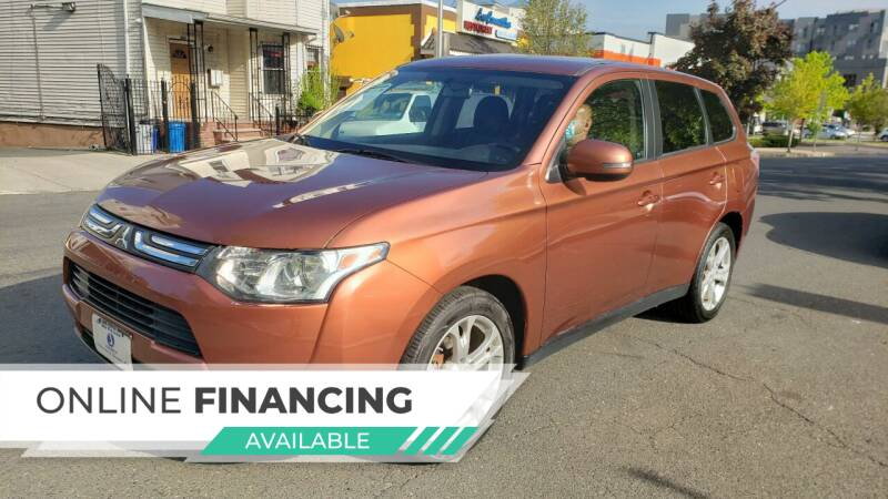 2014 Mitsubishi Outlander for sale at JOANKA AUTO SALES in Newark NJ