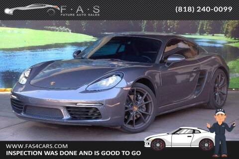 2018 Porsche 718 Cayman for sale at Best Car Buy in Glendale CA
