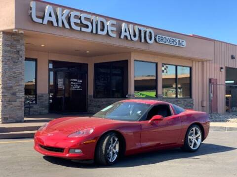 2008 Chevrolet Corvette for sale at Lakeside Auto Brokers in Colorado Springs CO