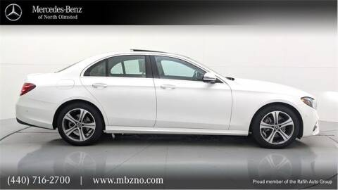2018 Mercedes-Benz E-Class for sale at Mercedes-Benz of North Olmsted in North Olmsted OH