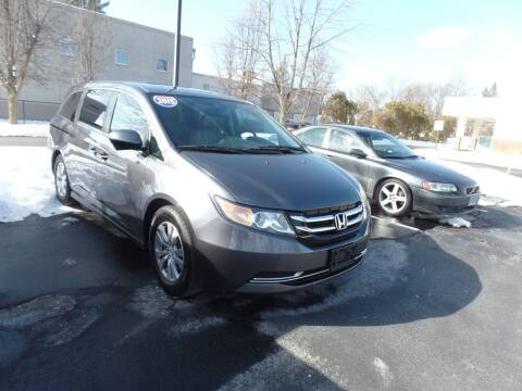 2015 Honda Odyssey for sale at CAR CORNER RETAIL SALES in Manchester CT
