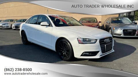 2013 Audi A4 for sale at Auto Trader Wholesale Inc in Saddle Brook NJ