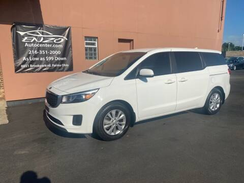 2016 Kia Sedona for sale at ENZO AUTO in Parma OH