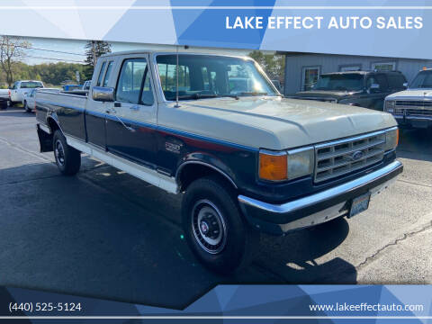 1987 Ford F-250 for sale at Lake Effect Auto Sales in Chardon OH