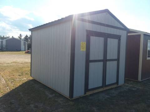 2021 PREMIER Portable Building's Urethane Utility for sale at Dave's Auto Sales & Service in Weyauwega WI