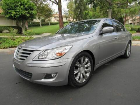 2011 Hyundai Genesis for sale at E MOTORCARS in Fullerton CA