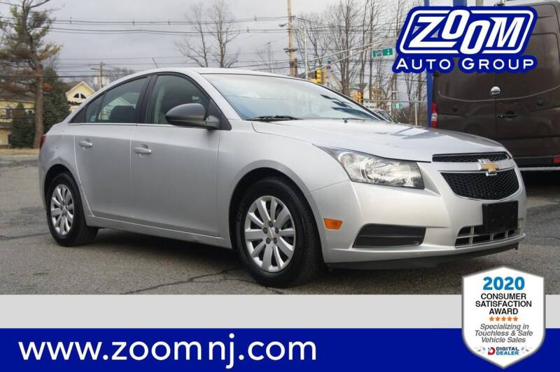 2011 Chevrolet Cruze for sale at Zoom Auto Group in Parsippany NJ