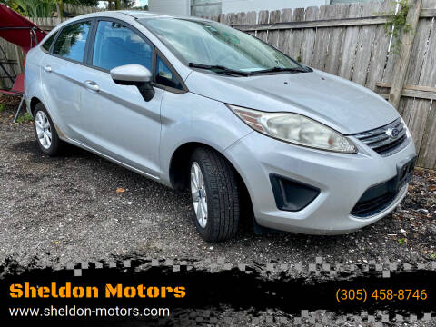 2012 Ford Fiesta for sale at Sheldon Motors in Tampa FL