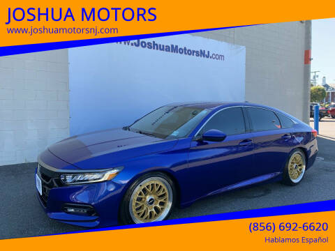 2018 Honda Accord for sale at JOSHUA MOTORS in Vineland NJ