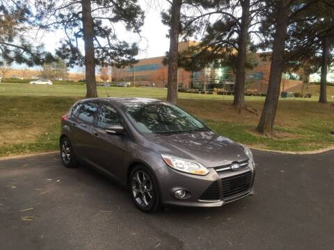 2014 Ford Focus for sale at QUEST MOTORS in Englewood CO