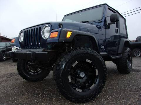 2003 Jeep Wrangler for sale at JEFF MILLENNIUM USED CARS in Canton OH